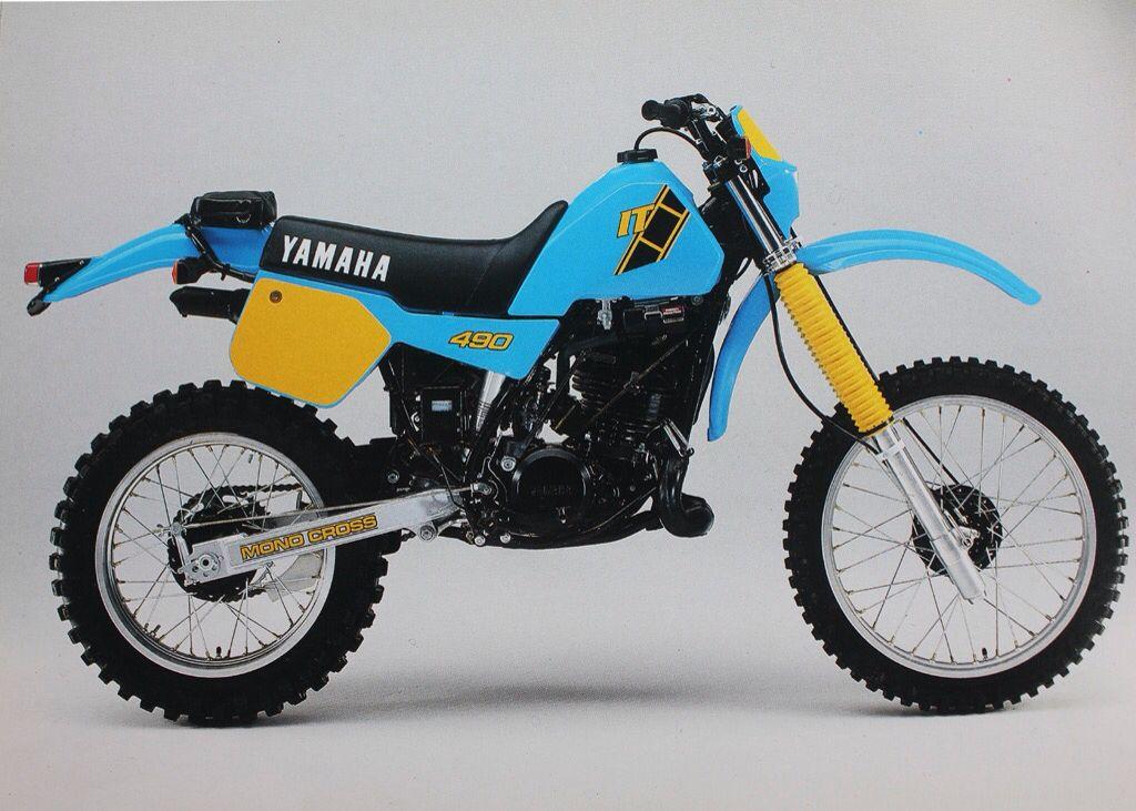Yamaha It490 Yamaha Dirt Bikes Yamaha Bikes Motocross Bikes