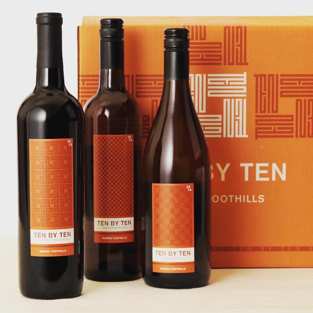 Orange Tenbytenwines Brightestboxever 4partsdesign Packagedesign Labeldesign Winelabels Brandingandidentity Bott Bottle Packaging Design Label Design