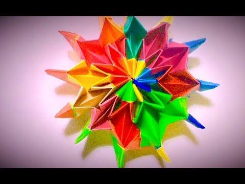 折り紙 万華鏡 折り方