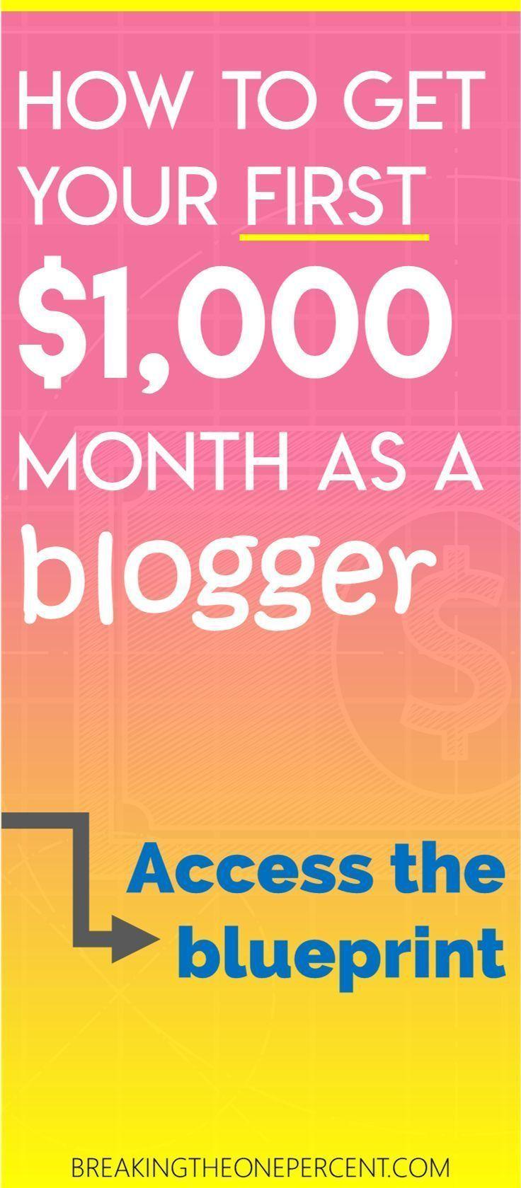 So verdienen Sie 1.000 US-Dollar pro Monat beim Bloggen (Schritt-für-Schritt-Anleitung)   –    Blogging Tips For Beginners