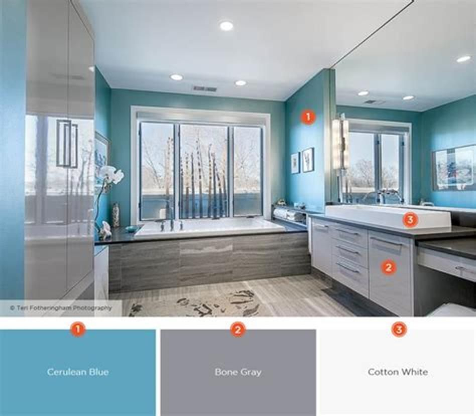 38 Best Bathroom Color Scheme Ideas For 2020 Craft Home Ideas Relaxing Bathroom Best Bathroom Colors Bathroom Color Schemes