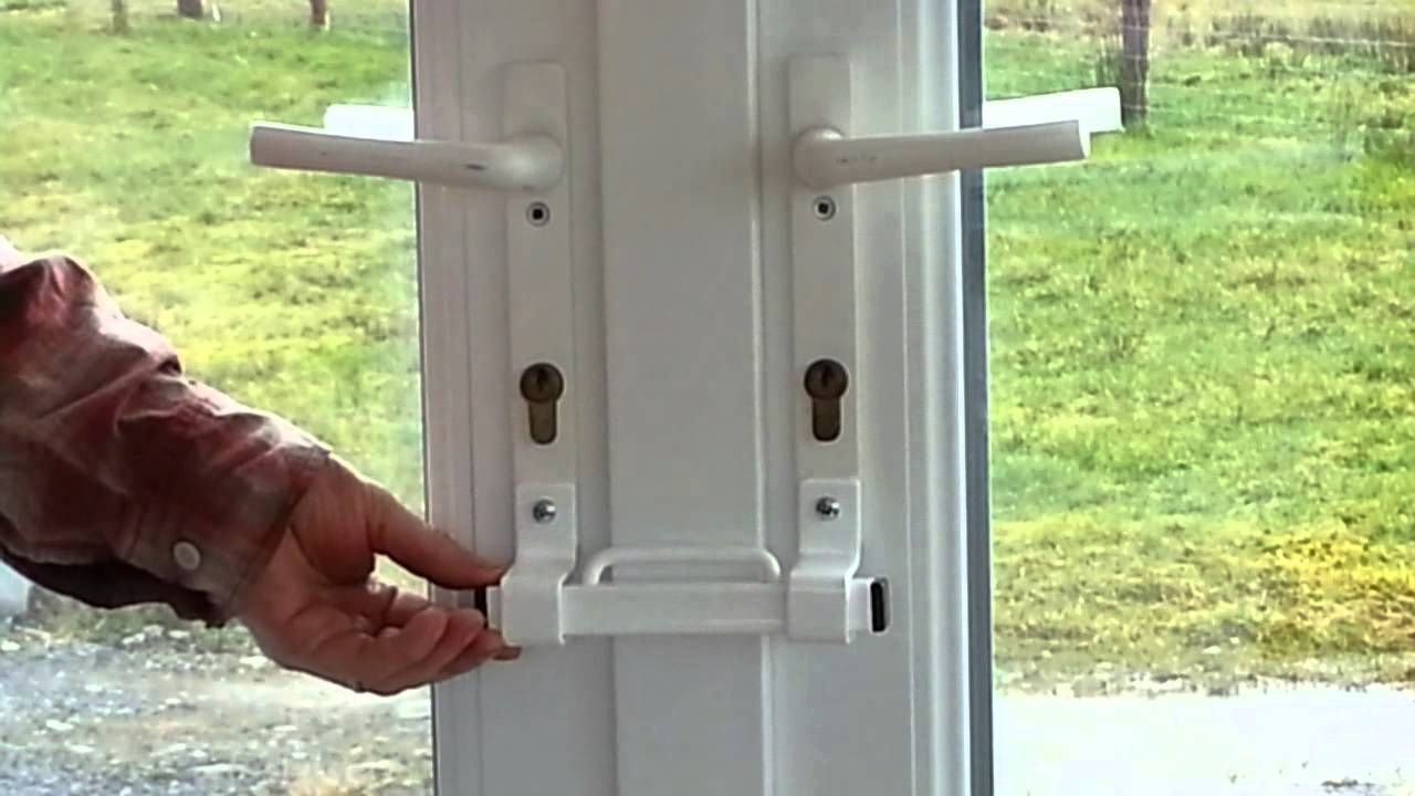 The Burglarybuster 2 French Door Keyless Cuff Lock French Doors