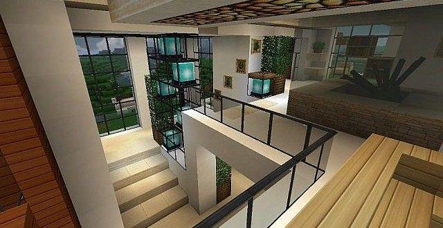 Nice Modern House With Style Minecraft Build 10
