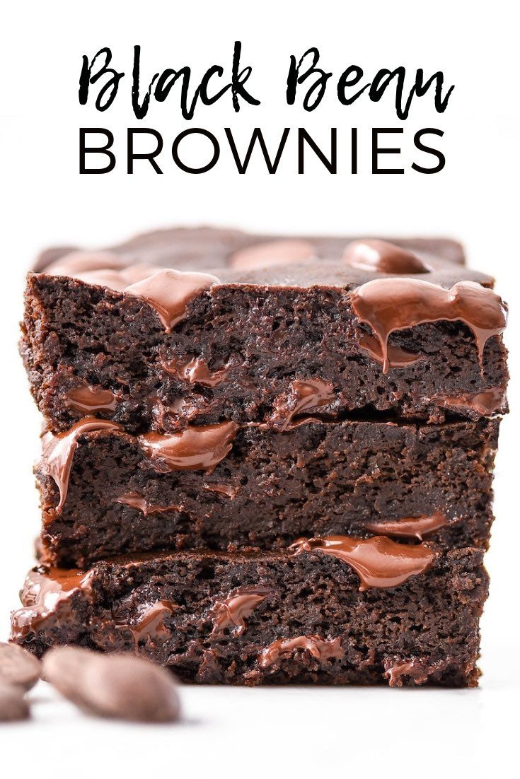 The BEST Black Bean Brownies Recipe ever + a video! I make these embarrassingly often because they