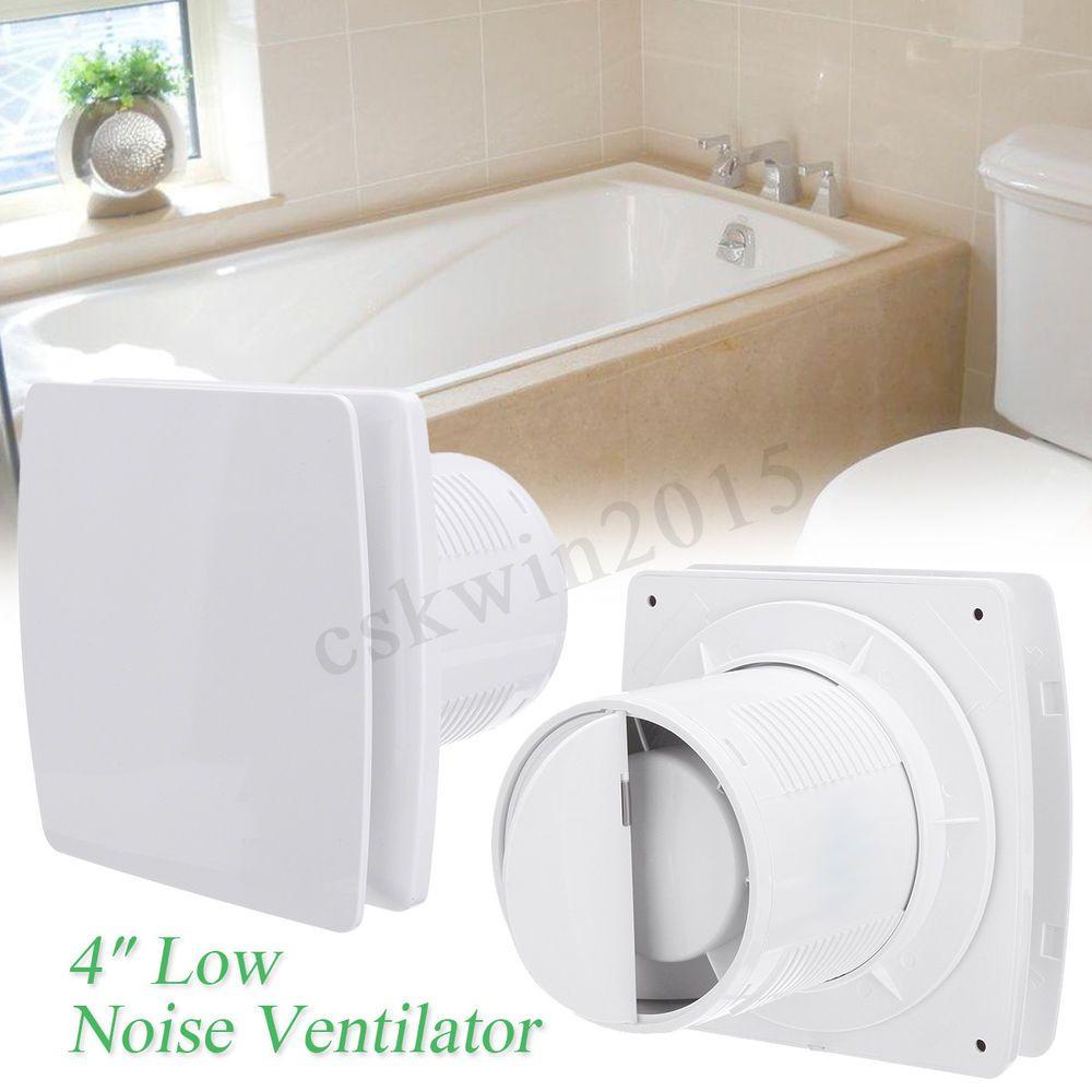 4 12w 95m H Ventilation Vent Extractor Fan Exhaust Air Blower Bathroom Toliet Home Stuff Improvement Room Ventilation Exhaust Ventilation Ventilation Fan
