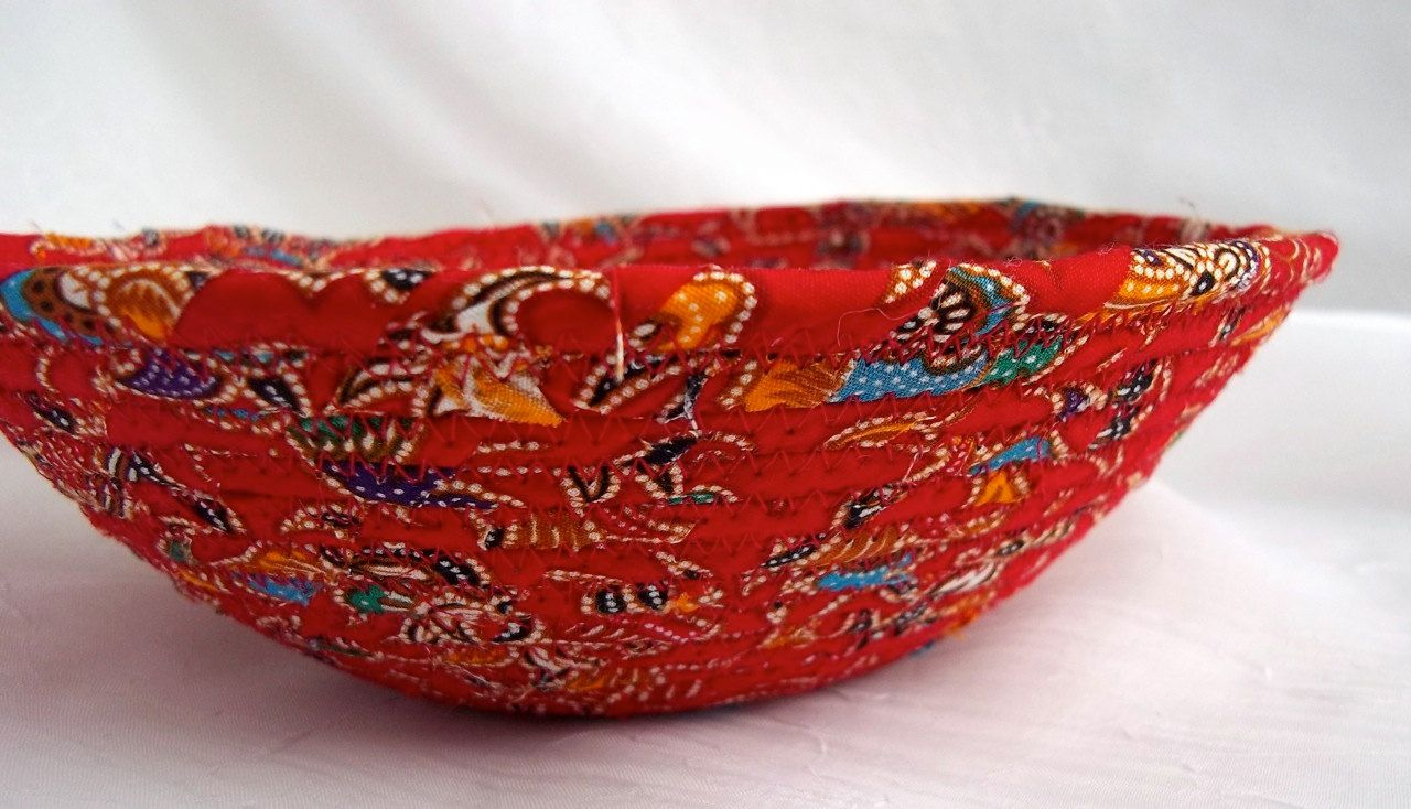 Tuscan Red Jewelry Tray by Wexford Treasures via Etsy.