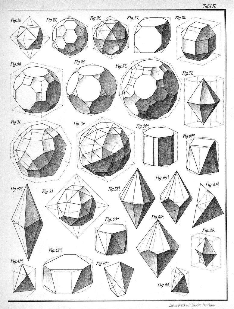 Картинки объемных фигур в геометрии