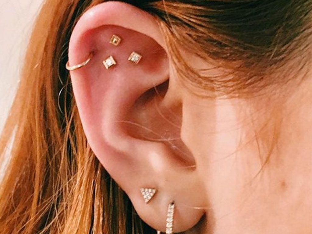 Constellation Piercings Are a Thing Now