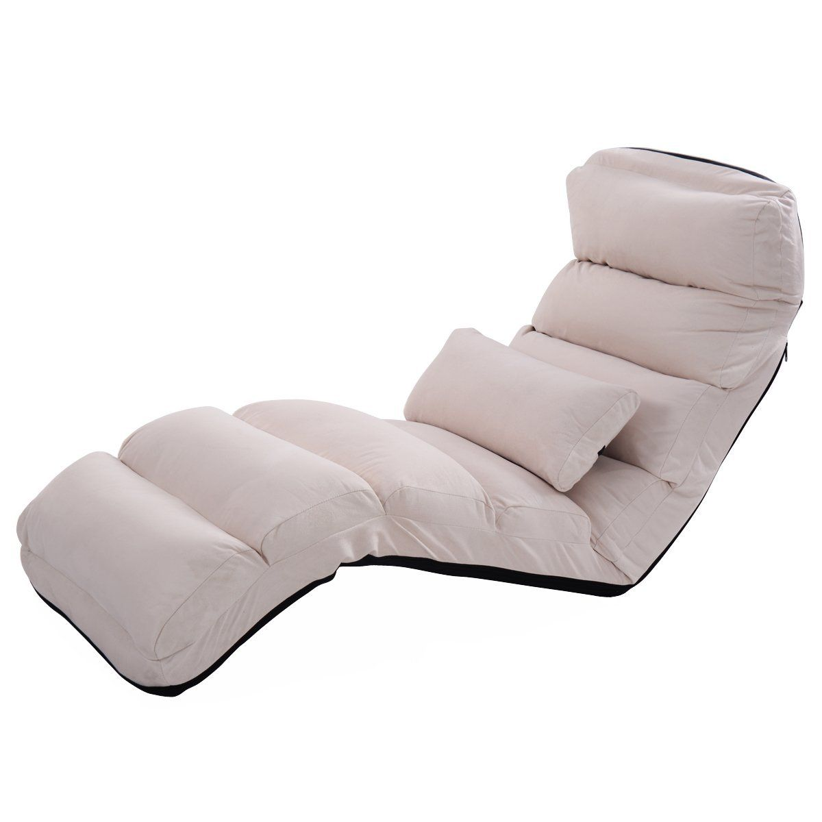 Brilliant Amazon Com Giantex Folding Lazy Sofa Chair Stylish Sofa Machost Co Dining Chair Design Ideas Machostcouk