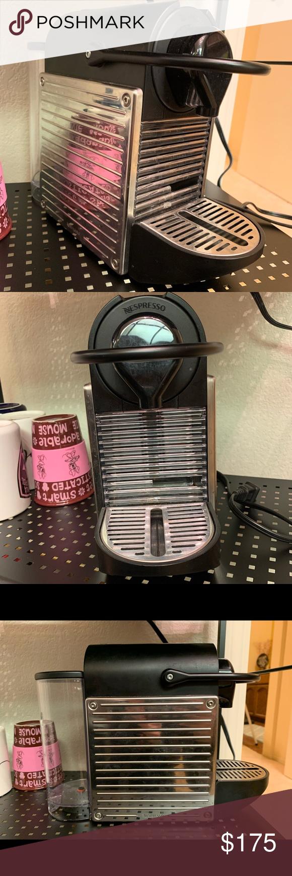 Nespresso Pixie Electric Titan Model Nespresso Single Cup