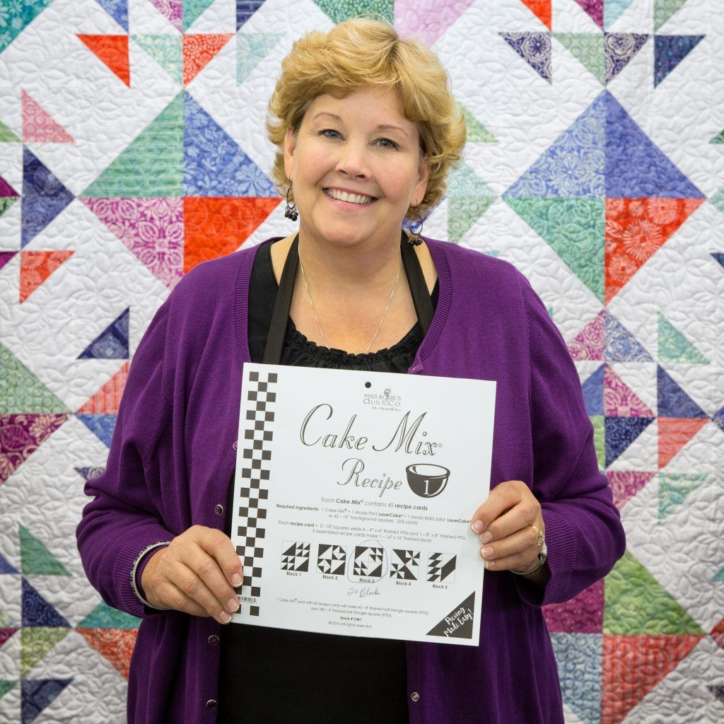Jenny From Missouri Star Quilt Co Shows How To Use Moda S Cake Mixes Recip Layer Cake Quilts Missouri Star Quilt Company Tutorials Missouri Star Quilt Company
