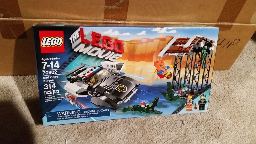 New Lego Bad Cop S Pursuit 70802 Set The Lego Movie Brand New Unopened Lego Lego For Sale Lego Age Lego