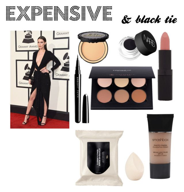 """Expensive and black tie"" by alexus-nicole-plata on Polyvore featuring Marc Jacobs, NARS Cosmetics, Too Faced Cosmetics, Smashbox, Christian Dior, Rimmel, H&M, women's clothing, women and female"