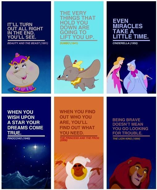 Dumbo Quotes Enchanting Disney Quotes 3 My Favorite Is The Princess And The Frog Quote