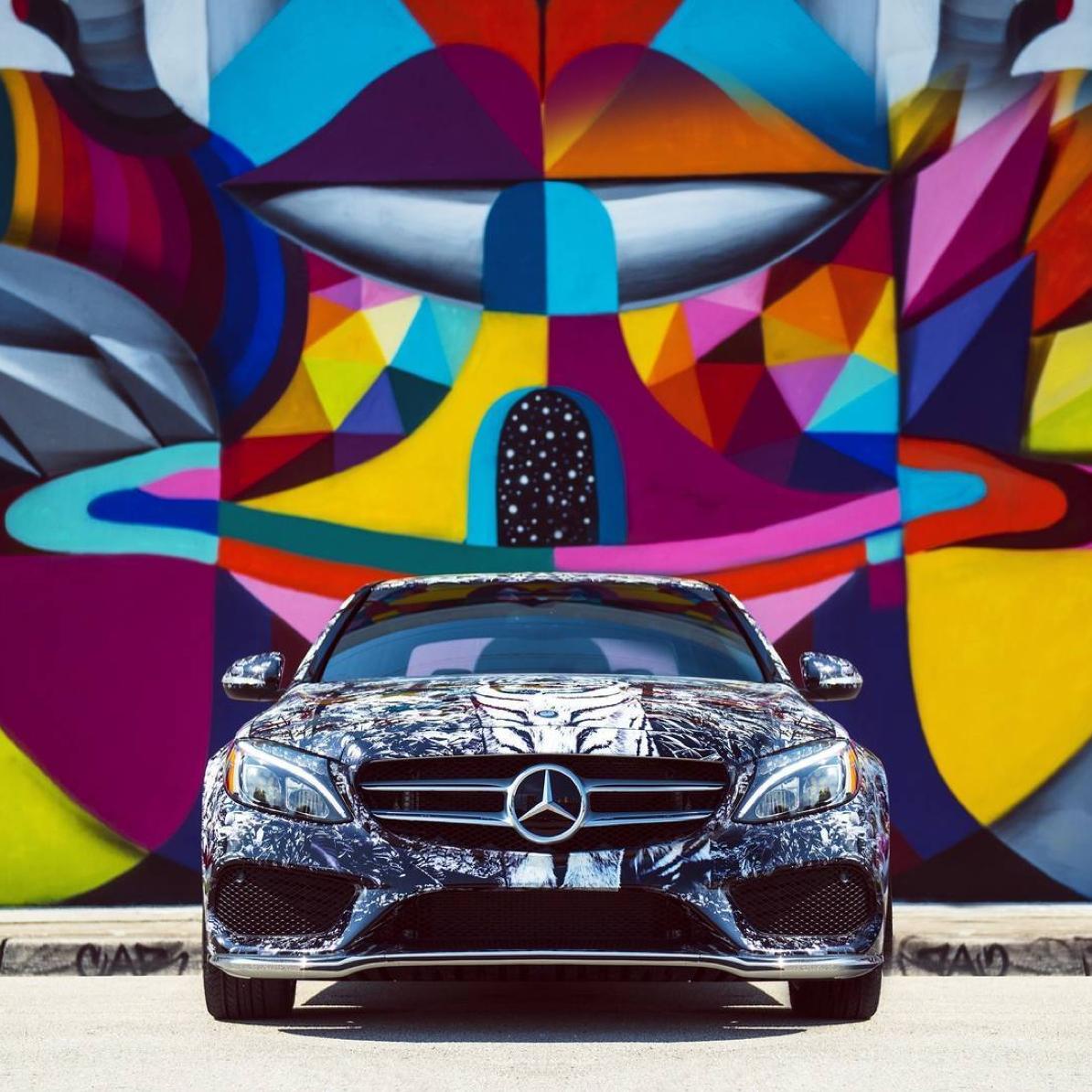 Street art. #MBPhotoCredit: @Ivannavaphoto #Mercedes #Benz ...