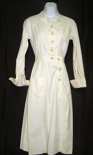 4b419dc0d774a1 WWII U s Navy Nurses Uniform Dress Naval Clothing Depot Label Original  Buttons