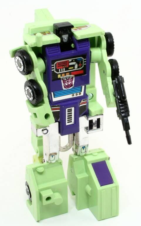 transformers g1 robot green | ... : transformers 1985 decepticon constructicon hook robot green 1986