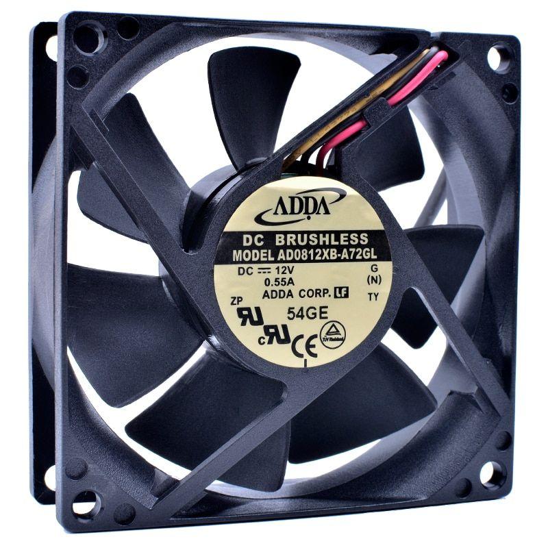 Adda Ad0812xb A72gl Dc12v 0 55a Computer Cooling Fan Cooling Fan