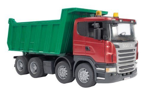 Bruder Scania R Series Dump Truck By Bruder 46 89 Suitable For Playing Indoors And Outdoors Incredible Realistic Detail Made In Germany Scale Tipper Truck