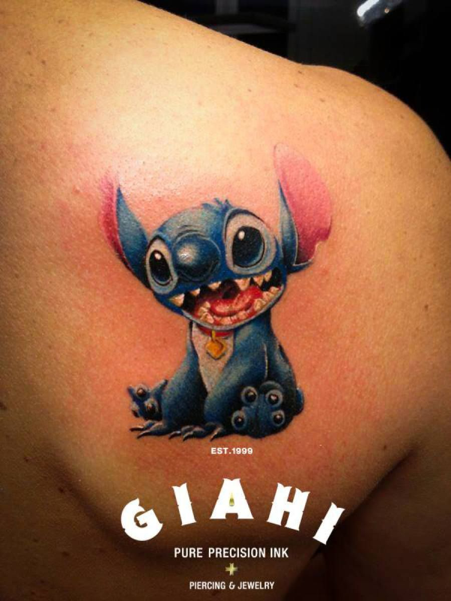 Lilo And Stitch Tattoo By Roony Stitch Tattoos Pinterest