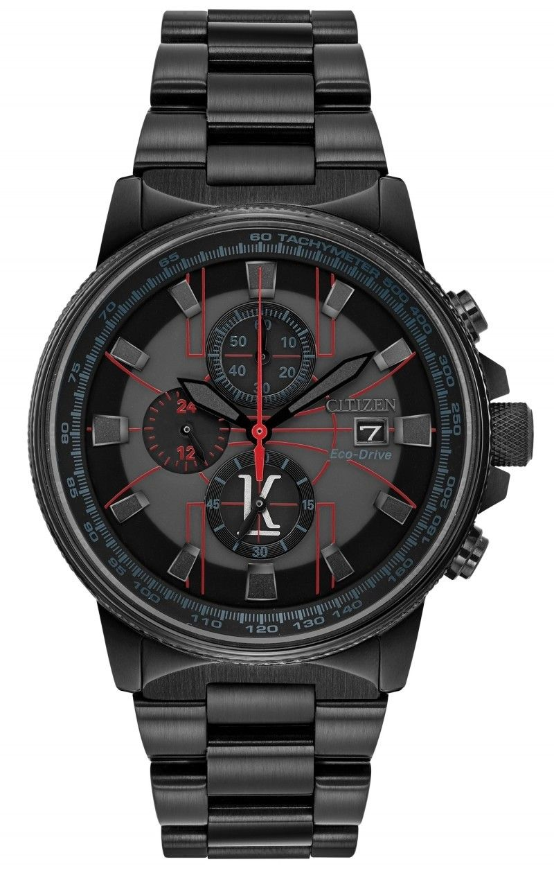 44f36b9f6 Nice red outlines on the Citizen Eco-Drive Nighthawk Kyle Lowry CA0298-50E!