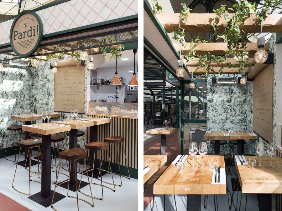 Agencement Du Restaurant Pardi A Paris Del In Restaurant Maison