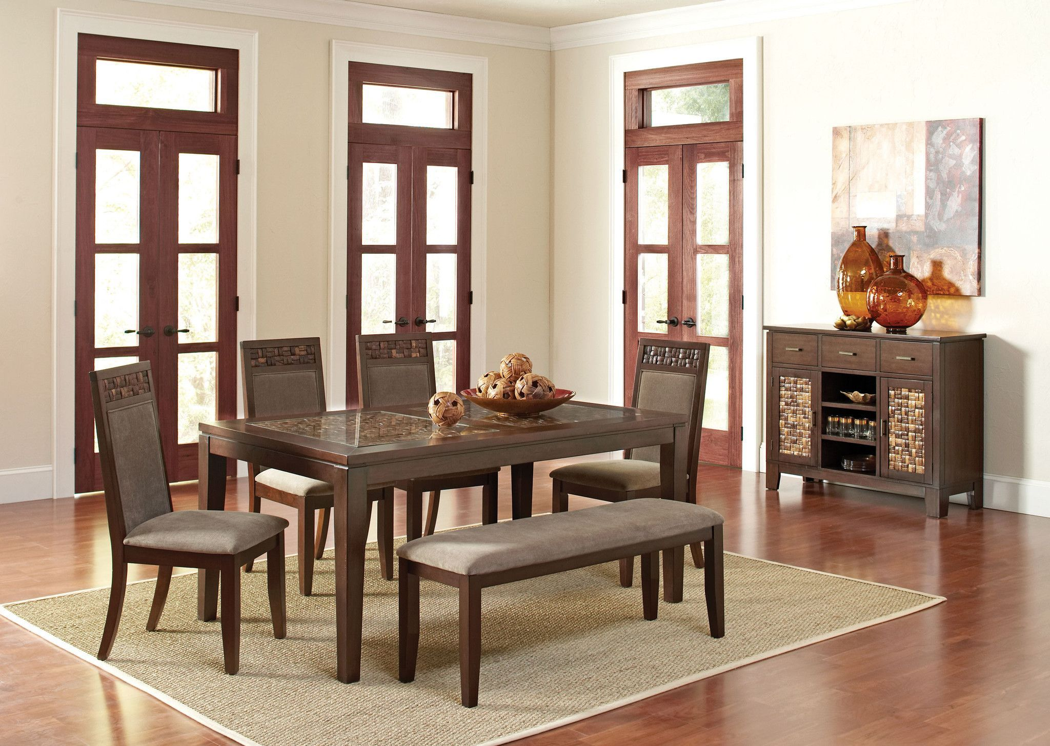 Trinidad Dining Table 6 Chairs CO 105491 895
