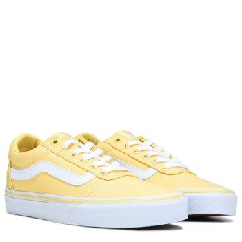Womens shoes wedges, Yellow vans