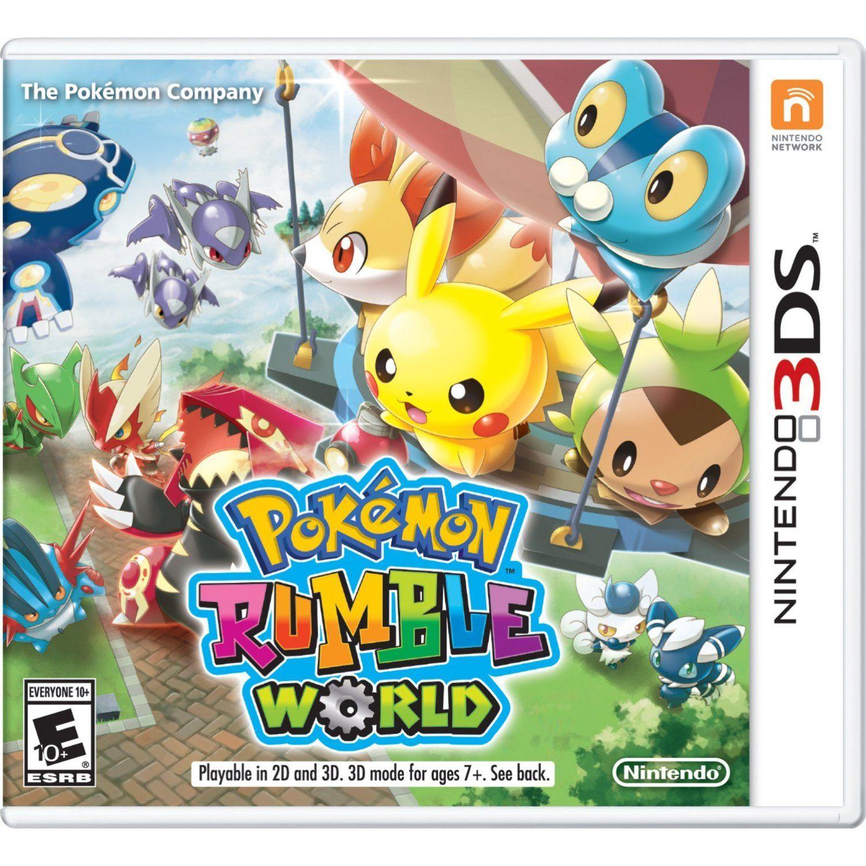 Pokemon Rumble World Pokemon Nintendo 3ds 3ds Pokemon