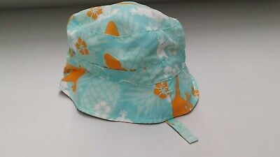Baby Hat Tropical and Gingham Print Reversible with Chin Strap #fashion #clothing #shoes #accessories #baby #babyaccessories (ebay link)