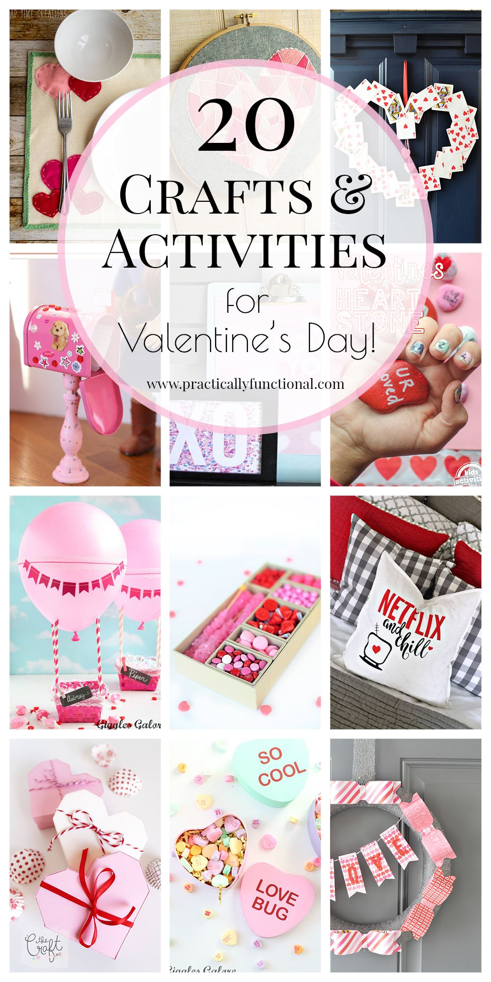20 Fun Valentines Crafts & Activities | Valentine crafts, Activities ...