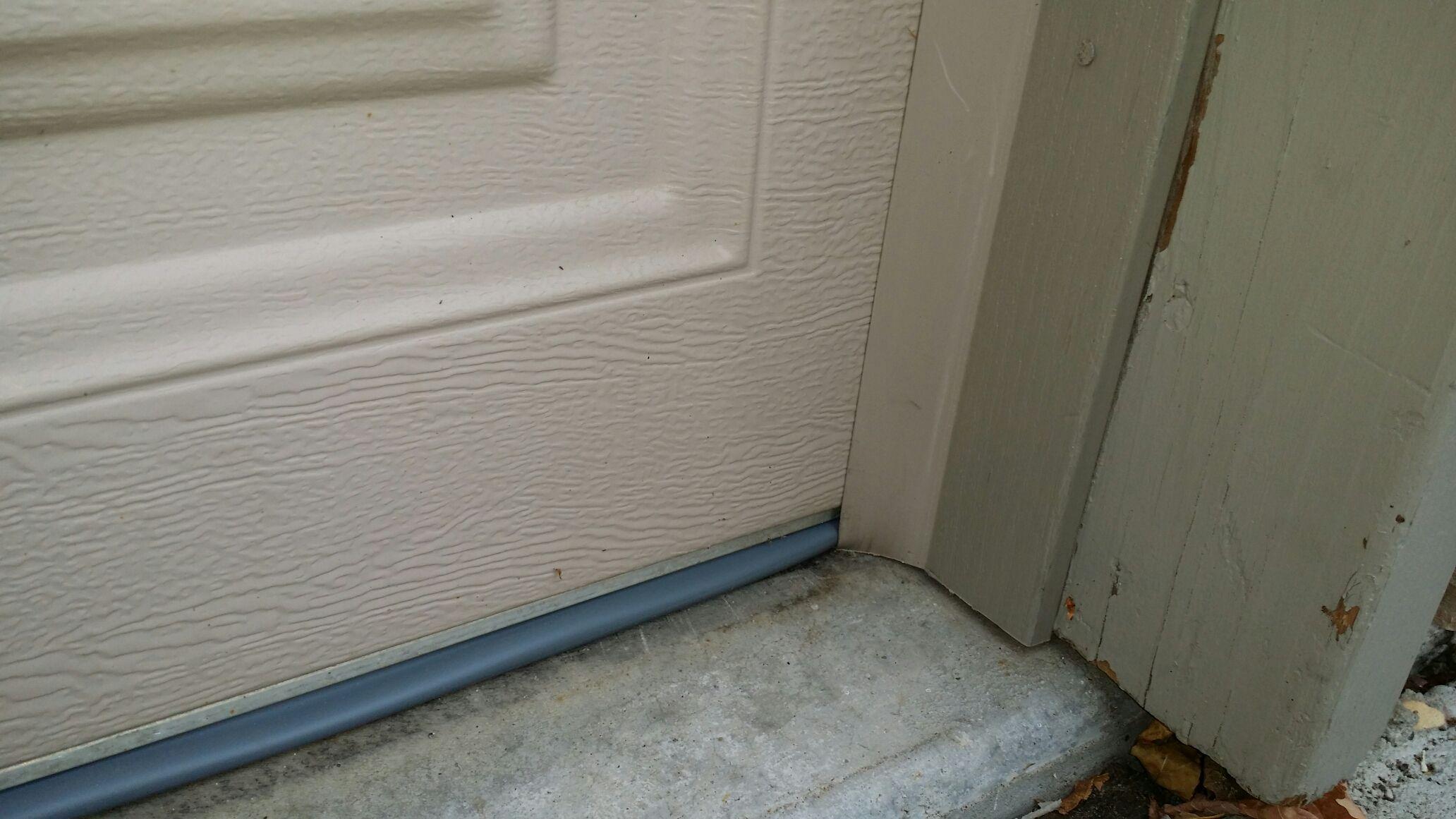 Replace Garage Door Trim And Bottom Seal Near Th St W Apple Valley Mn 55124 Garage Doors Garage Door Trim Doors