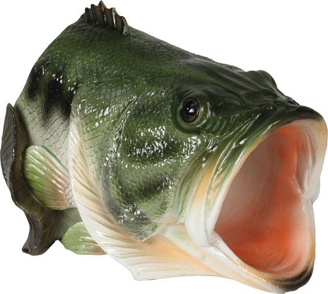 Decorative Bass Gutter Spout Gutter Spout Fish Sculpture