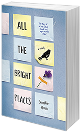 Blog Tour Review All The Bright Places By Jennifer Niven With Giveaway With Images Jennifer Niven Book Review Blogs Books Young Adult