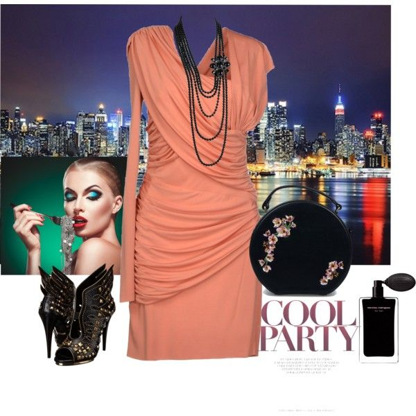 """NYC party"" by ichtar on Polyvore"