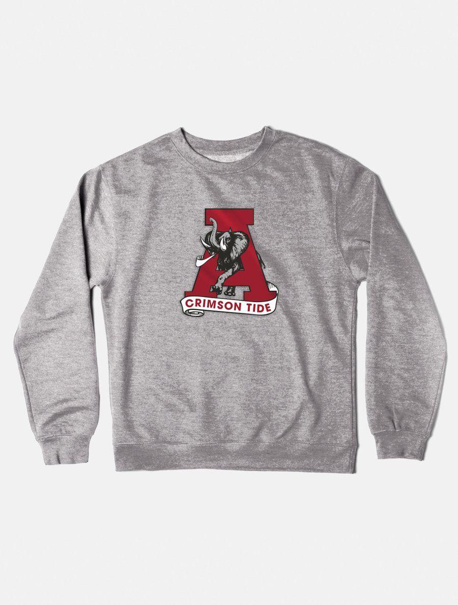 Alabama Vintage Crewneck Sweatshirt In 2021 Vintage Crewneck Vintage Crewneck Sweatshirt Sweatshirts [ 1187 x 900 Pixel ]
