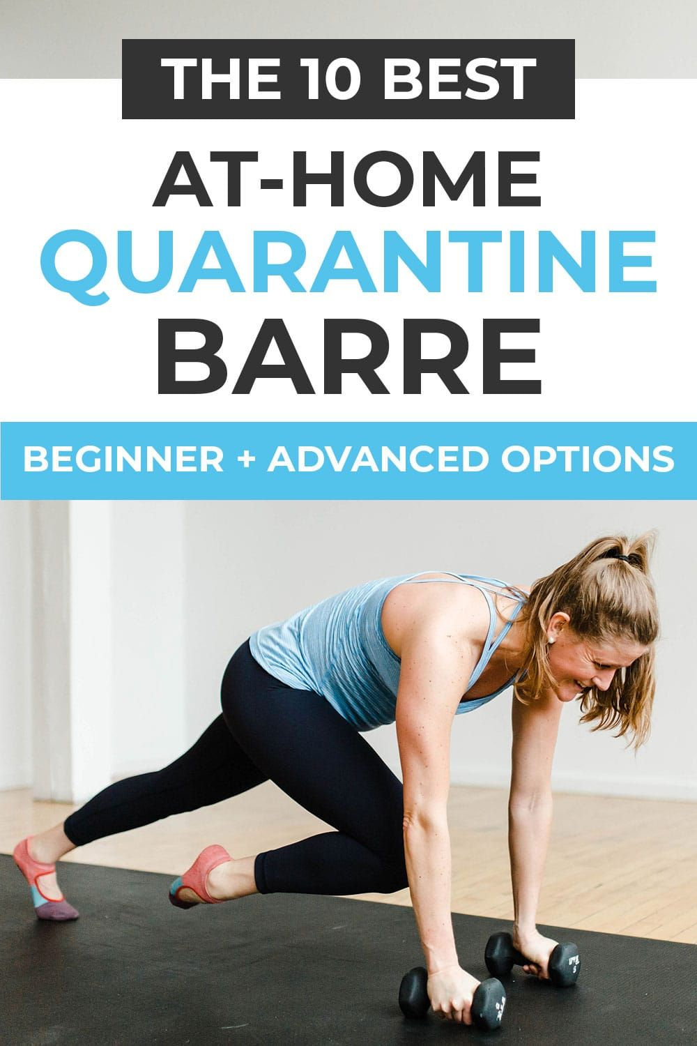 Barre Workouts For Quarantine