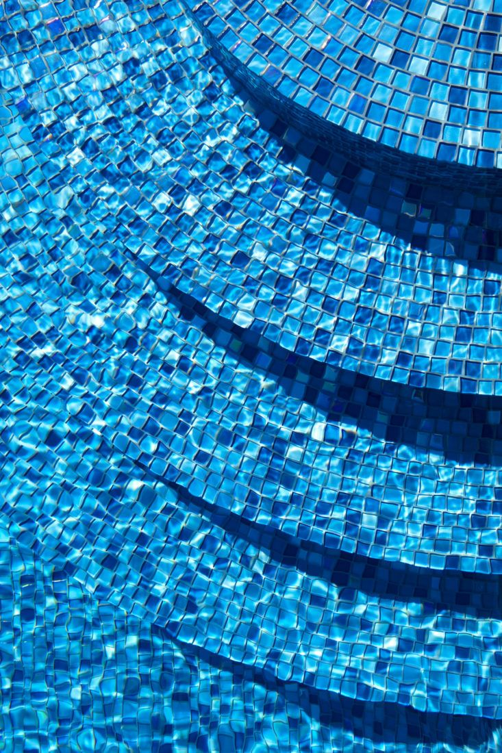 Ask the Expert: An Insider's Guide to Swimming Pool Design from Scott Lewis #blue