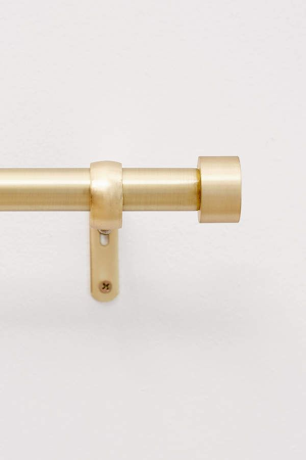 Cappa Curtain Rod Brass Curtain Rods Curtain Rods Gold Curtain Rods