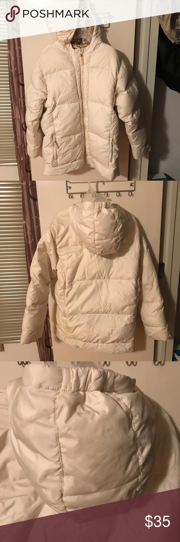 Old Navy White Puffer Jacket Super Soft And Warm Girls Puffer Jacket Inside Is A Fleece Material Easy To Wash White Puffer Jacket Girls Puffer Jacket Jackets [ 1740 x 580 Pixel ]
