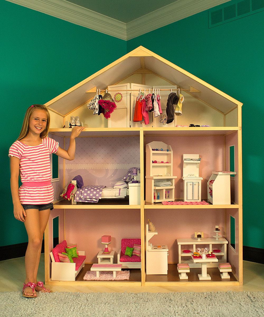 Country French Doll House for 18