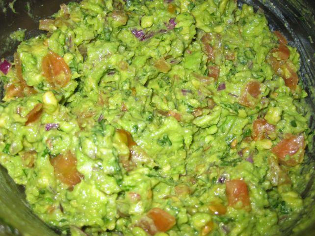 Homemade guacamole http://theproofofthepudding.net/2014/03/21/guacamole-and-pinto-bean-dip/