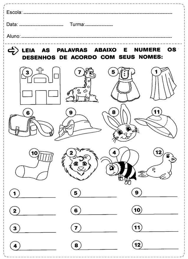 Suficiente Atividades-1°-ano-português-alfabeto – Educação e Transformação  ZD29