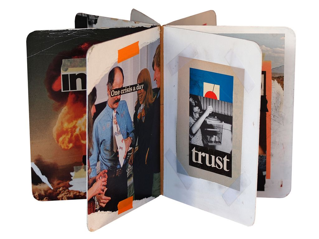 Fred One Litch // Reach out - collage book