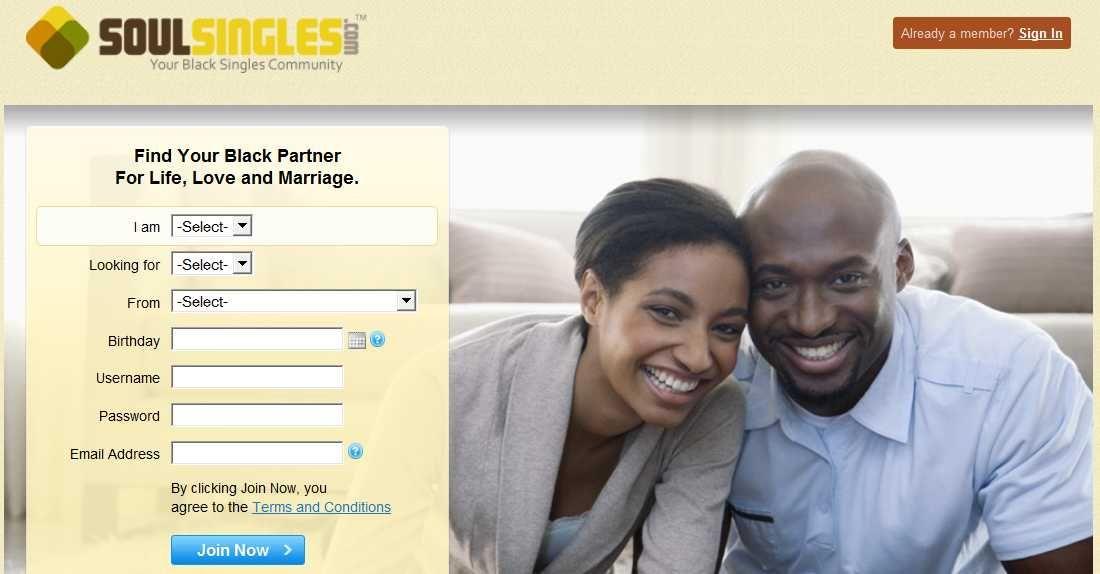 Free online black dating sites