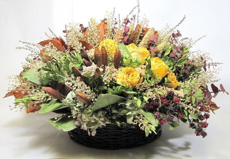 centro de mesas con flores secas - Cerca amb Google flores secas y - flores secas