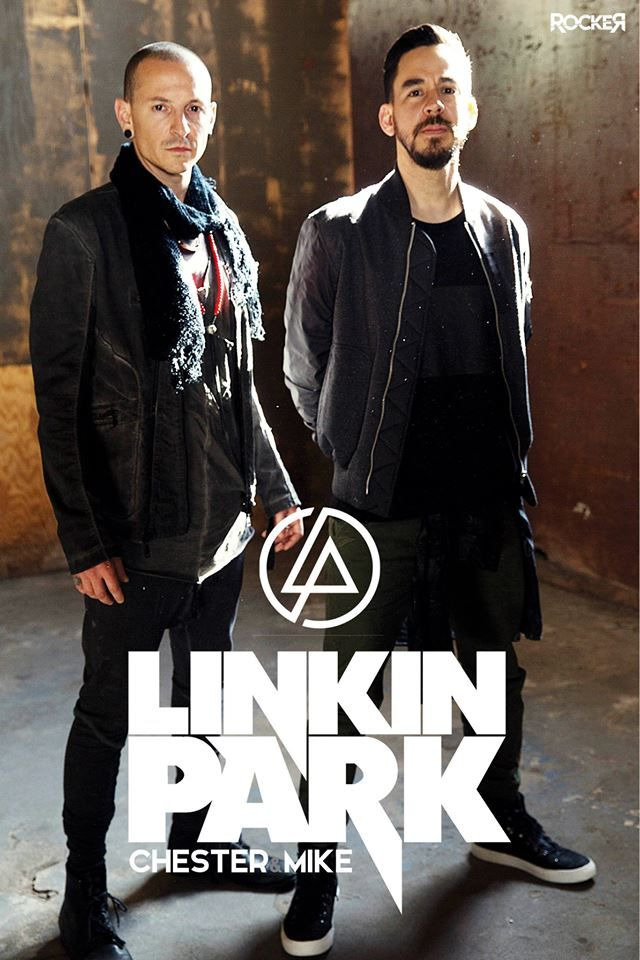 Mike Shinoda And Chester Bennington Simply The Best Posteres De