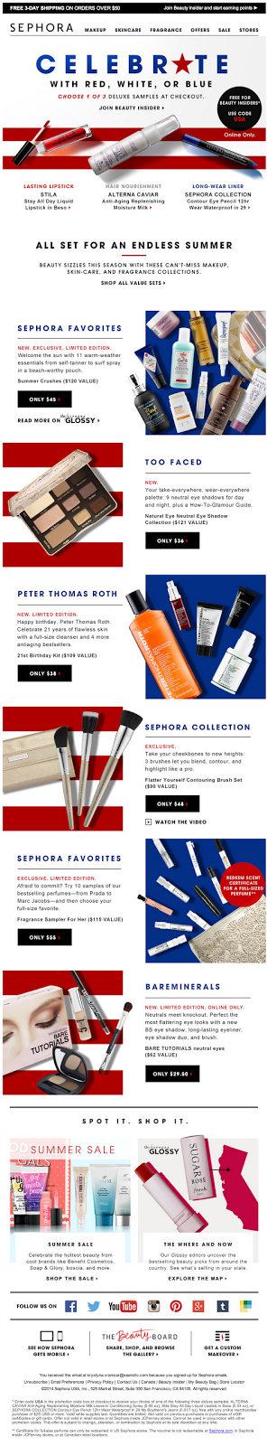 Sephora - Red, white, or blue? Pick one..png