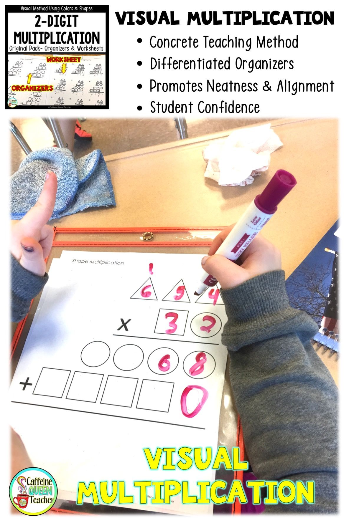 Concrete Way To Teach Multiplication With A New Strategy