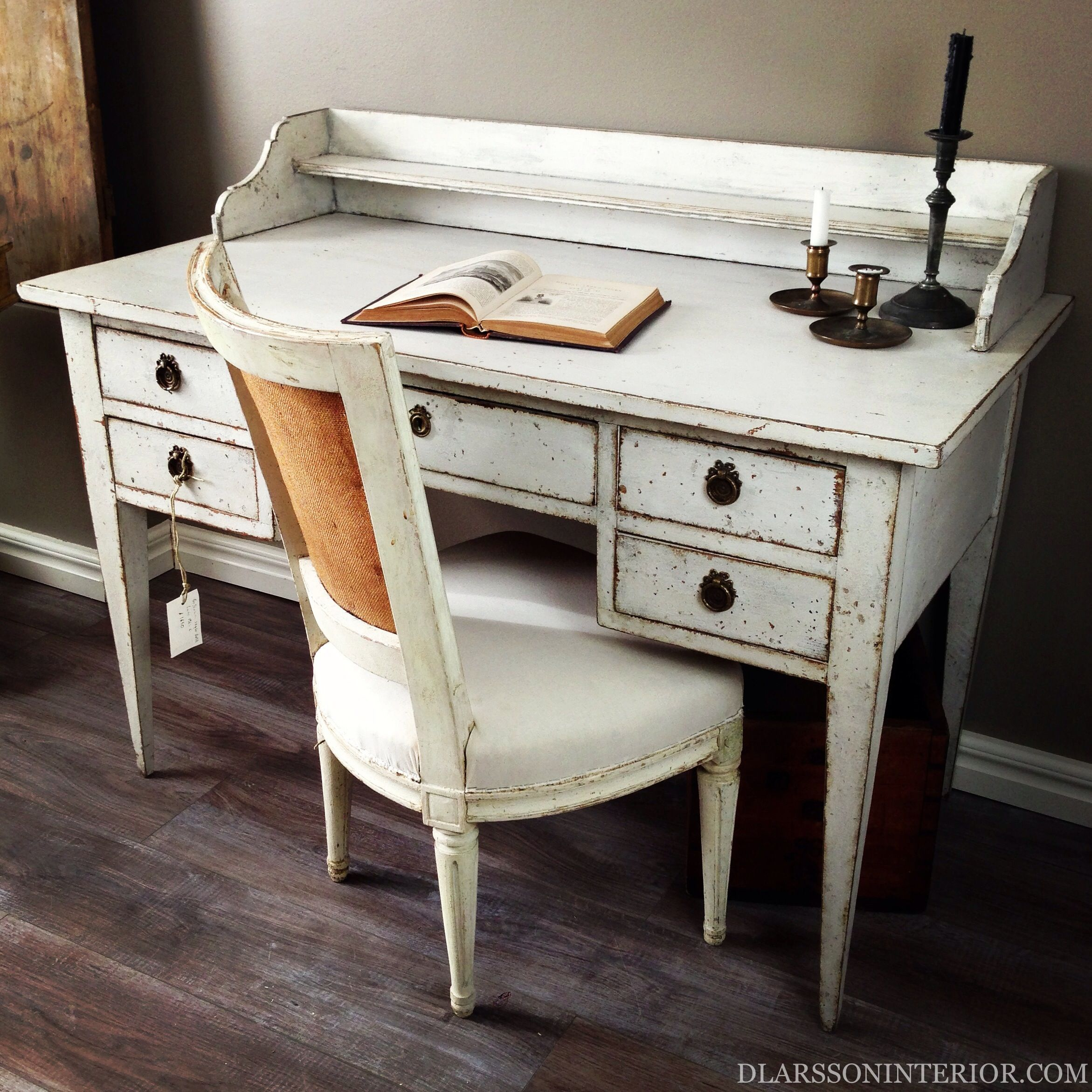 Wonderful Gustavian Style Writing Desk Love This Desk